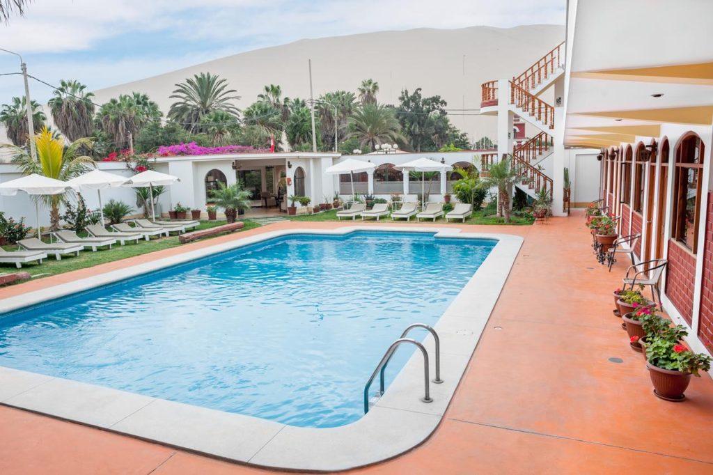 HOTEL PAS CHER PEROU à HUACACHINA en plein désert