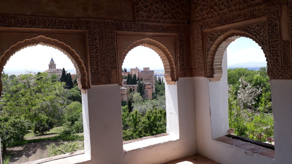 Generalife avec la visite de l'Alhambra à Grenade Andalousie