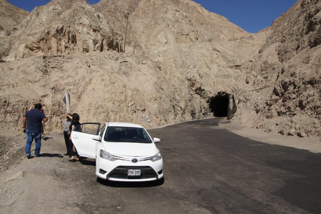 En route pour les excursions du circuit autour de Nazca