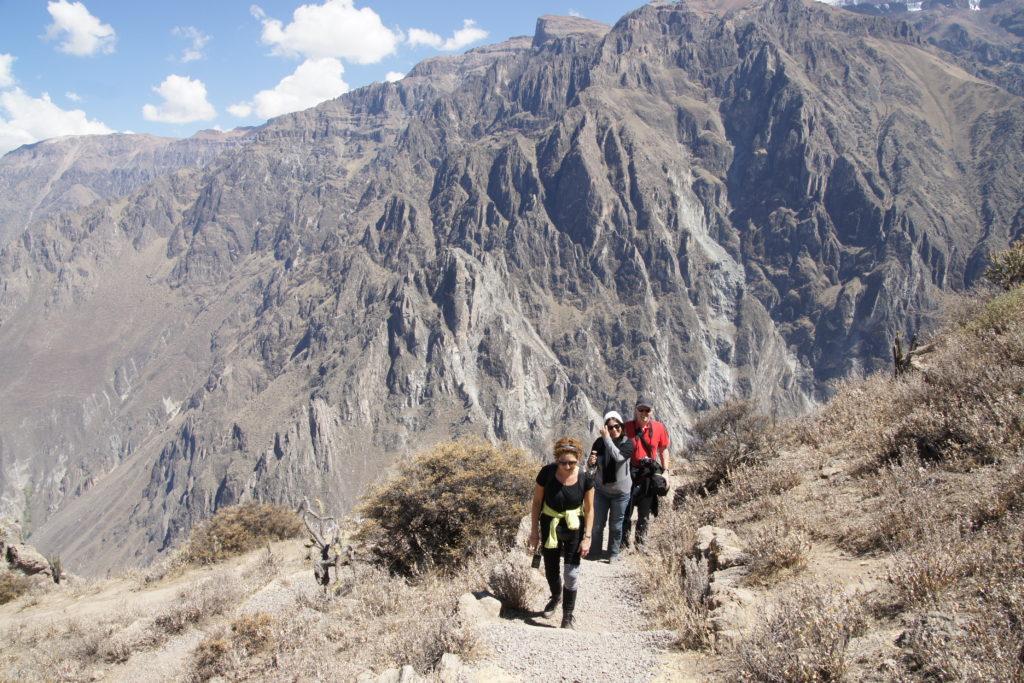 Randonnée dans le canyon colca