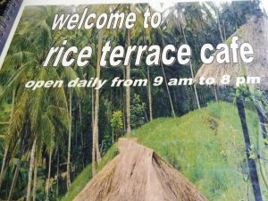 Affiche du restaurant RICE TERRACE CAFE au village de Rendang