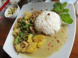 Exemple de plat pris au restaurant le Melting Wok Warung à UBUD