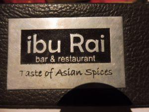 Restaurant IBU RAI à UBUD