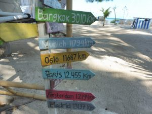 DISTANCES DE GILI AIR