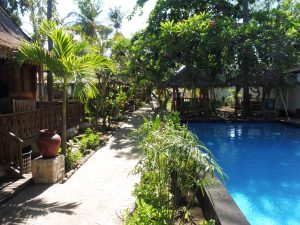 PISCINE UNZIPP BUNGALOW A GILI AIR