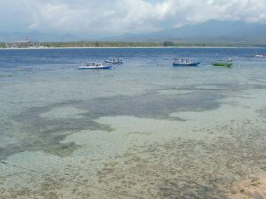 PLAGE FACE A UNZIPP BUNGALOW A GILI AIR