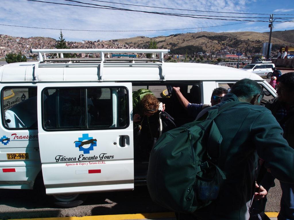 Notre arrivée à Puno
