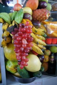 Fruits exotiques sur le marché San Pedro à CUSCO