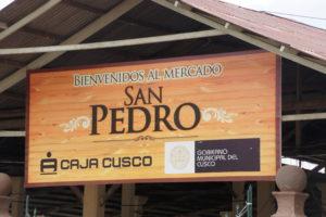 Visiter CUSCO -Entrée du Marché San Pedro