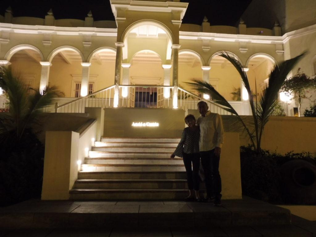 Entrée du restaurant ASTRID Y GASTON à Lima au PEROU