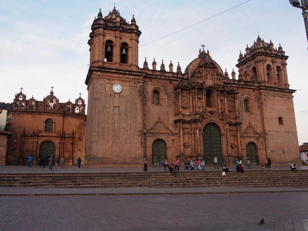 Cathédrale sur la Plaza de Armas à Cuzco