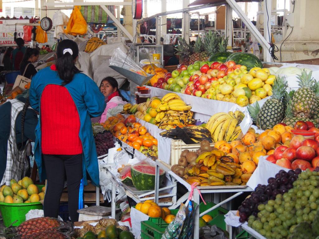 Visiter CUSCO et son marché de San Pedro