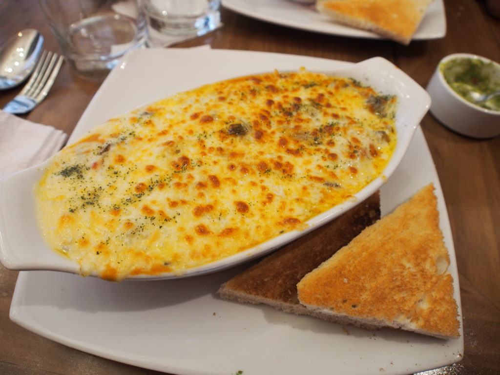 Lasagnes au restaurant el capricio et Visiter CUSCO