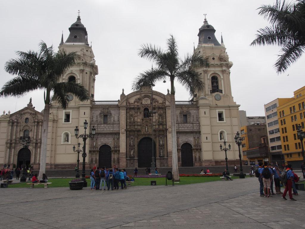 Comment visiter Lima - Plaza de armas à Lima au Pérou