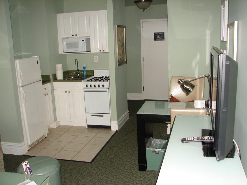 La cuisine de notre hôtel dans Quartiers Manhattan