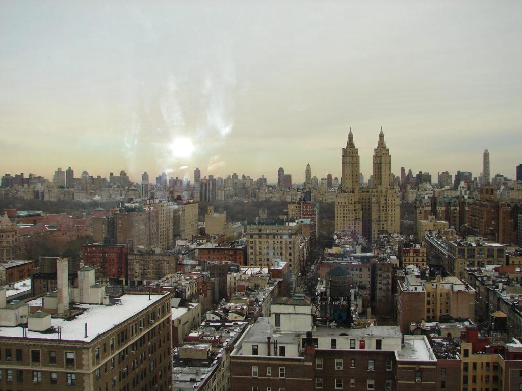 Quartiers Manhattan - Vue de notre hôtel