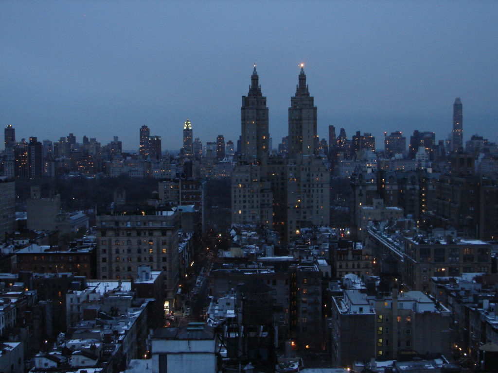 Quartiers Manhattan - Vue de notre chambre