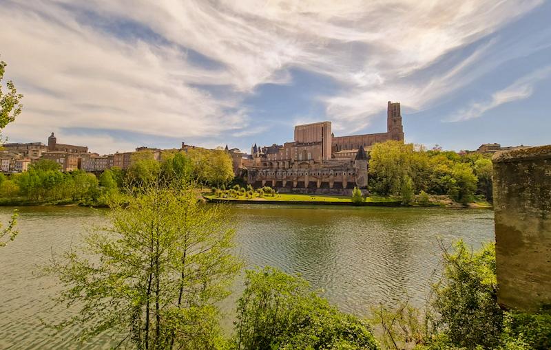 Visiter Albi en 1 jour à pied Vue sur la Cité Episcopale