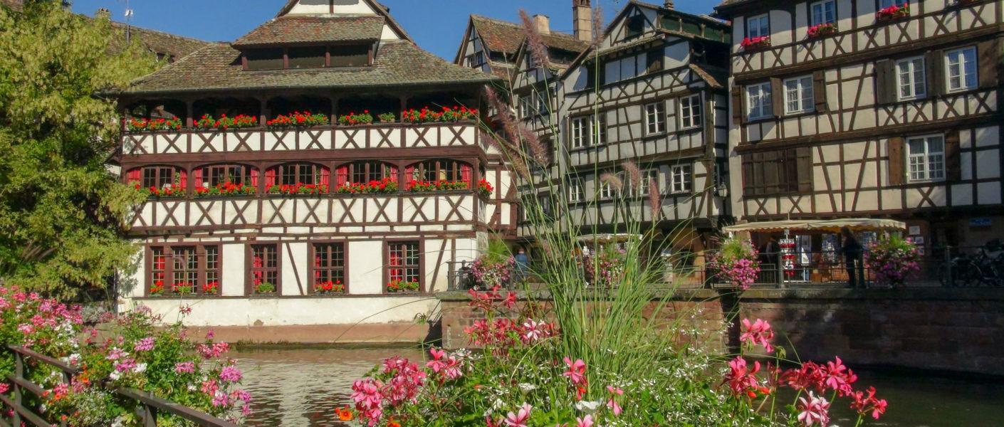 Mon itinéraire à pied avec carte du city tour Strasbourg en 1 jour