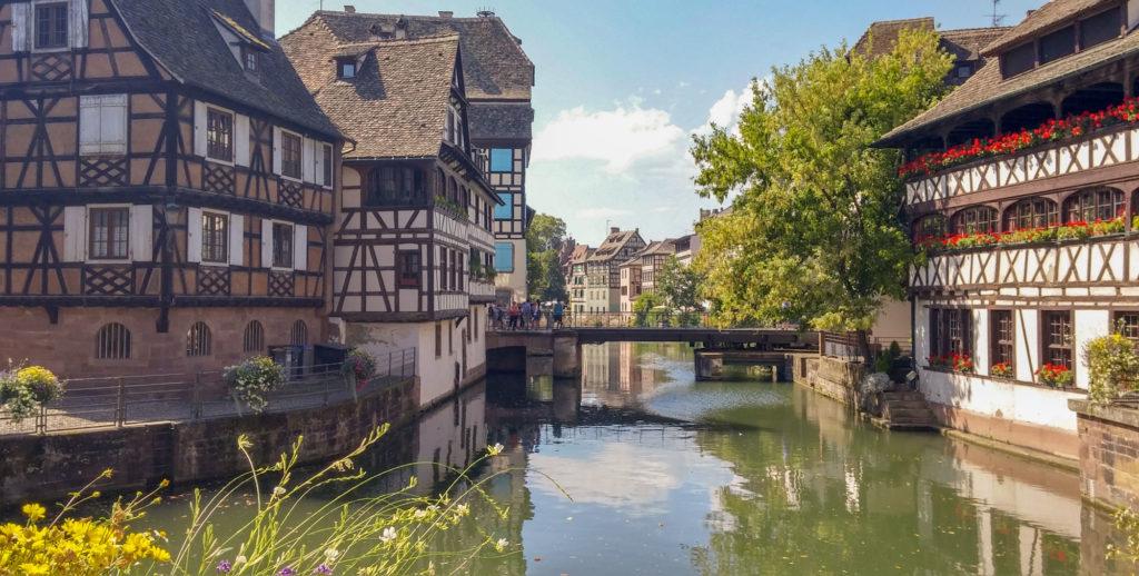 Lugar emblemático de Estrasburgo - La  Granda Isla
