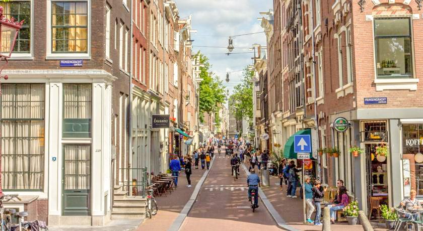 Quartier Jordaan CIRCUIT AMSTERDAM EN 2 JOURS