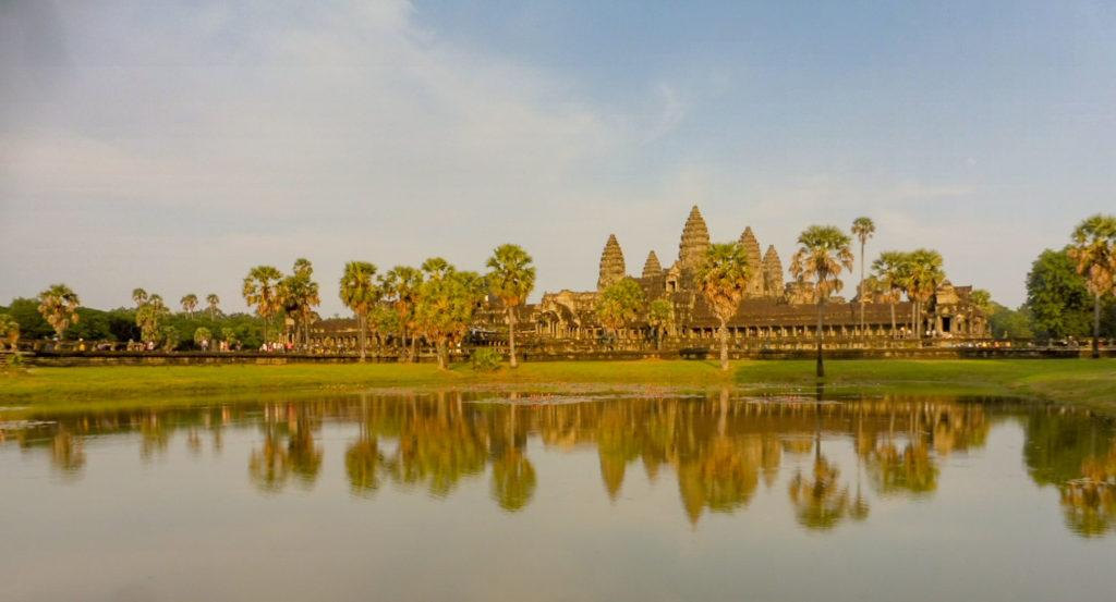 Site d'Angkor pour mon Circuit 15 jours Laos Cambodge - Itinéraire sur 2 semaines avec carte