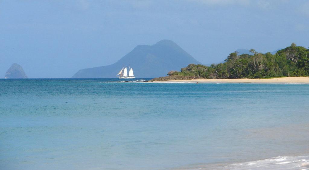 PLAGE de l'Anse Diamant ma plage préférée, la plus belle de Martinique