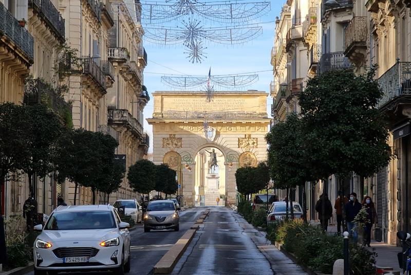 Visiter Montpellier en 1 jour à Pied : Arc de Triomphe