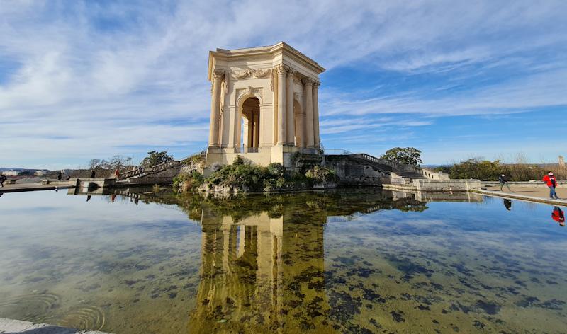 Montpellier en 1 jour Chateau d'eau