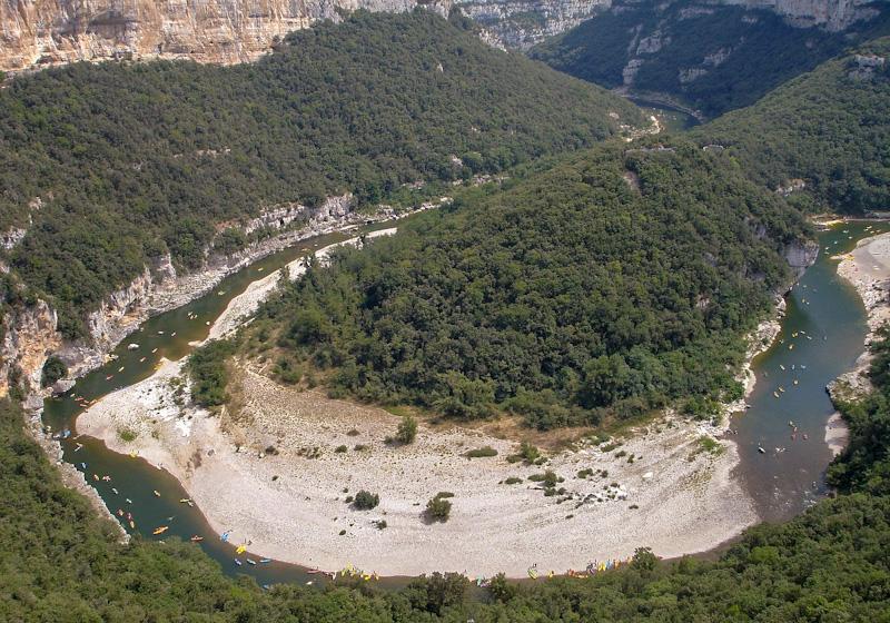 Que voir autour des gorges de l'Ardèche