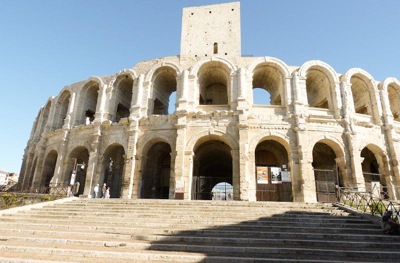Visiter Arles en 1 jour étape aux arènes d'Arles