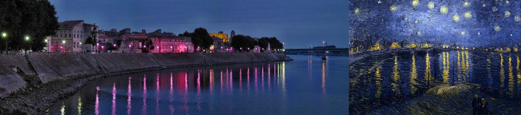 Etape de mon circuit de visite d'Arles sur les traces de Van Gogh