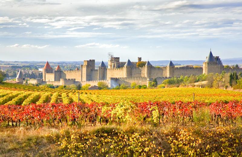 Carcassonne étape de mon circuit en hébergements insolites en Occitanie