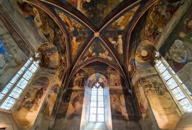 Visiter Avignon à pied - Intérieur du Palais des Papes