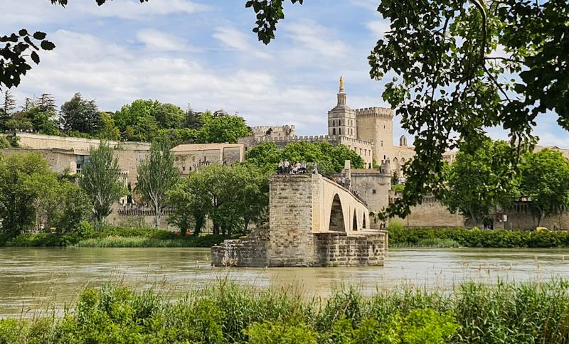 visiter Avignon en camping car