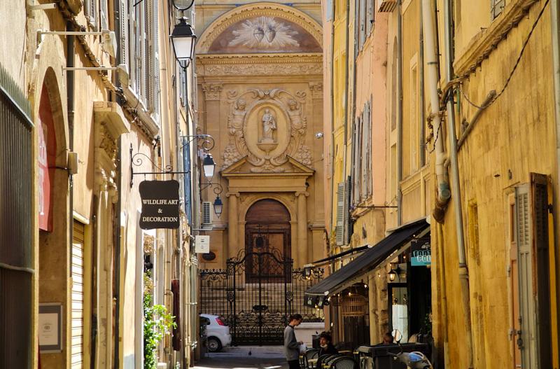 Chapelle des Ursulines dans mon circuit à pied pour visiter Aix en Provence en 1 jour