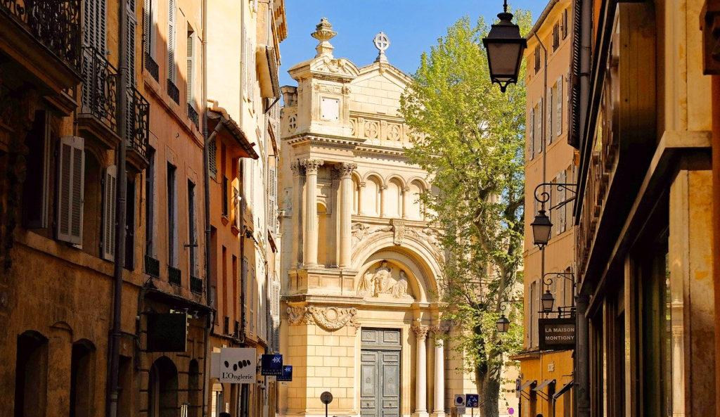 Road trip en Provence - Aix en Provence - Itinéraire de mon circuit