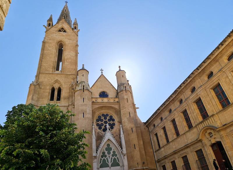 Chapelle des Pénitents blancs dans mon circuit pour visiter Aix en Provence à pied