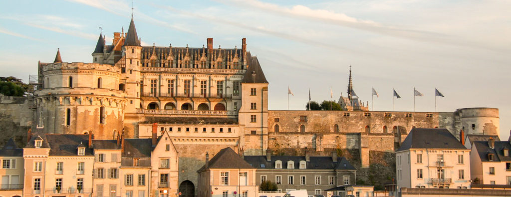 10 jours pour visiter la France en Train étape à Amboise