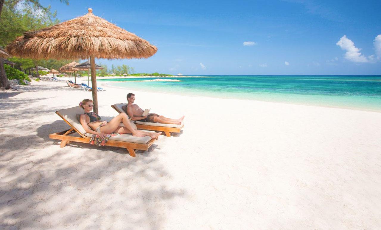 Hôtel situé dans un endroit paradisiaque aux Bahamas pour lune de miel
