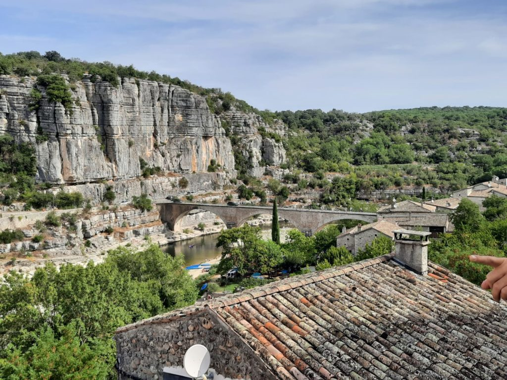 Itinéraire Ardèche BALAZUC