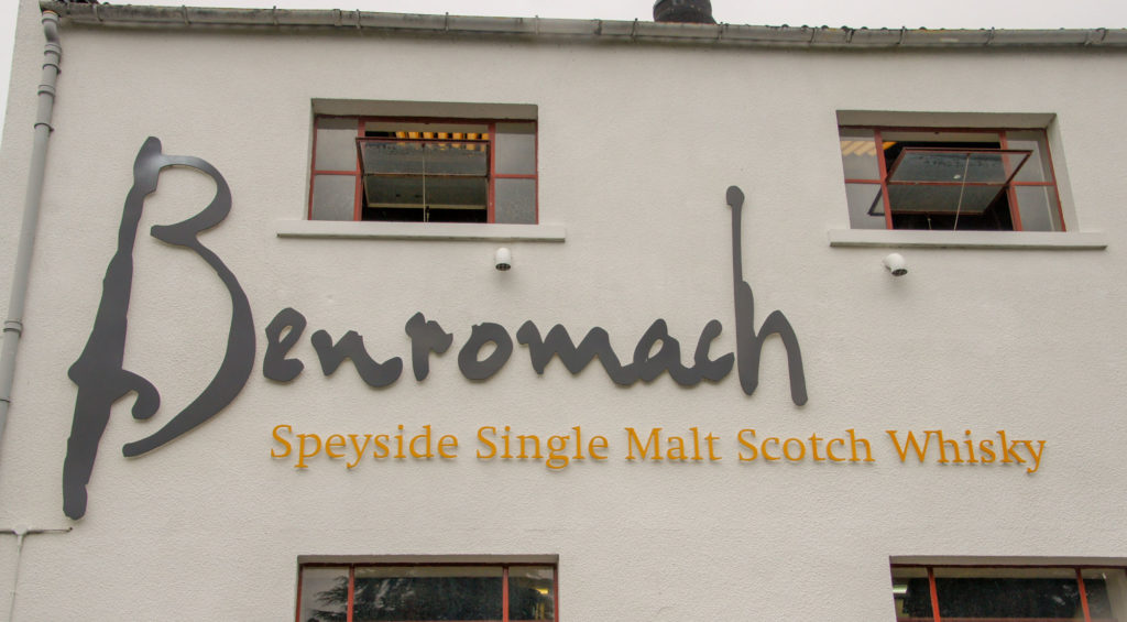 DIRECTION LES HIGHLANDS distillerie Benromach