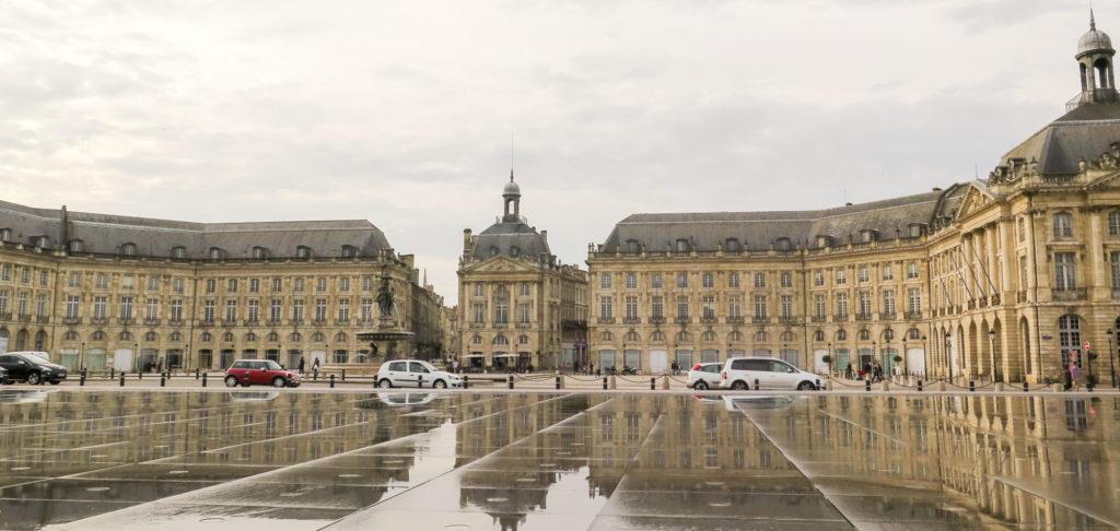 Visite de Bordeaux à pied pour mon circuit 1 semaine en France
