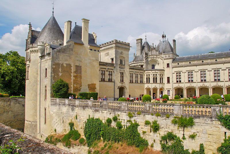 Château de Brézé entre los castillos más bellos del Valle del Loira en 5 días