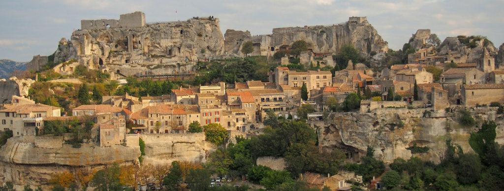 Sud de la France baux de Provence