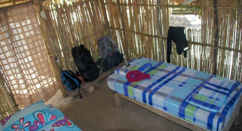 Cabane intérieur Archipel des SAN BLAS Ile ACHU DE MAR