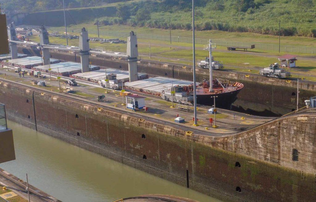 Canal de Panama Ecluse Miraflores