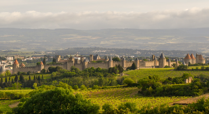 Carcassonne étape de mon circuit 15 jours en France