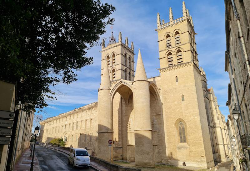 Que voir à Montpellier en 1 jour - Cathédrale Saint Pierre