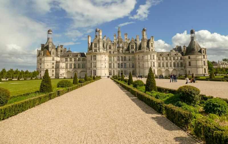 Château de Chambord LE PLUS BEAU DES CHATEAUX DE LA LOIRE